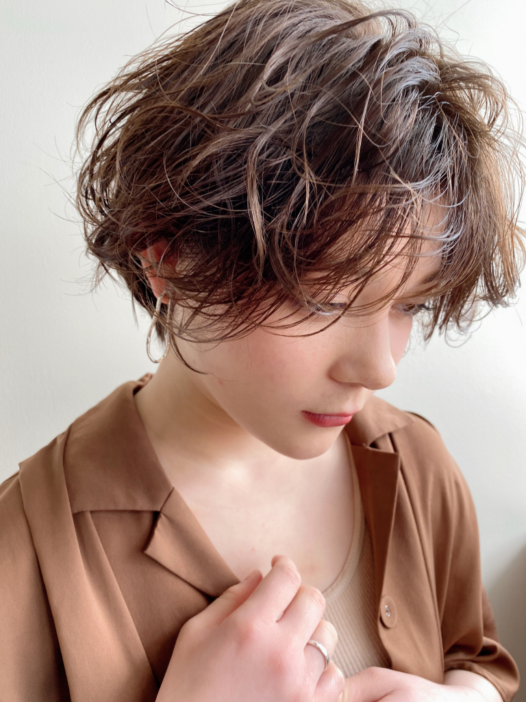 rough curl × handsome short